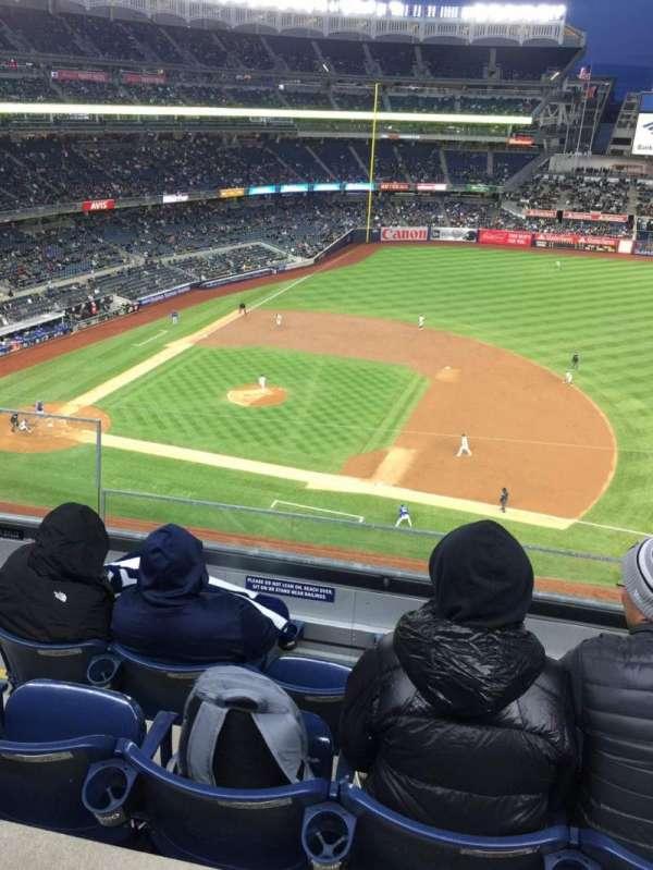 Yankee Stadium, secção: 314, fila: 4, lugar: 22