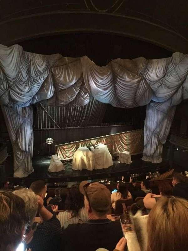 Majestic Theatre, secção: FMEZO, fila: G, lugar: 2