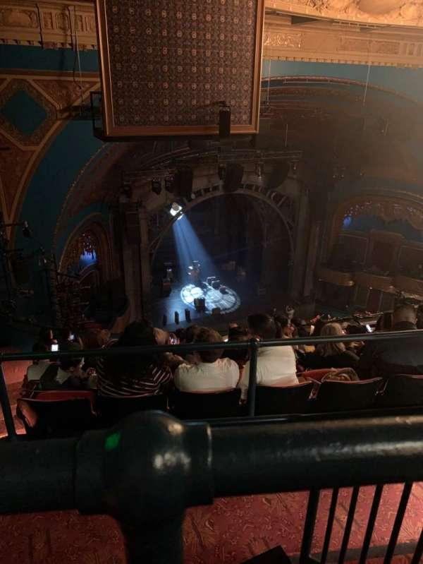 Curran Theater, secção: Balcony, fila: H, lugar: 19