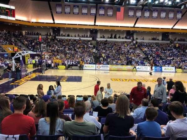 Allen Arena, secção: 103, fila: K, lugar: 4