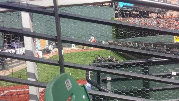 Oriole Park at Camden Yards, secção: 86, fila: 2, lugar: 9