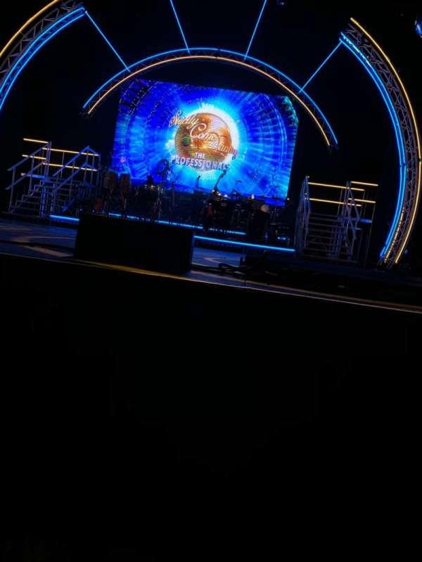 Blackpool Opera House, secção: Stalls, fila: A, lugar: 15