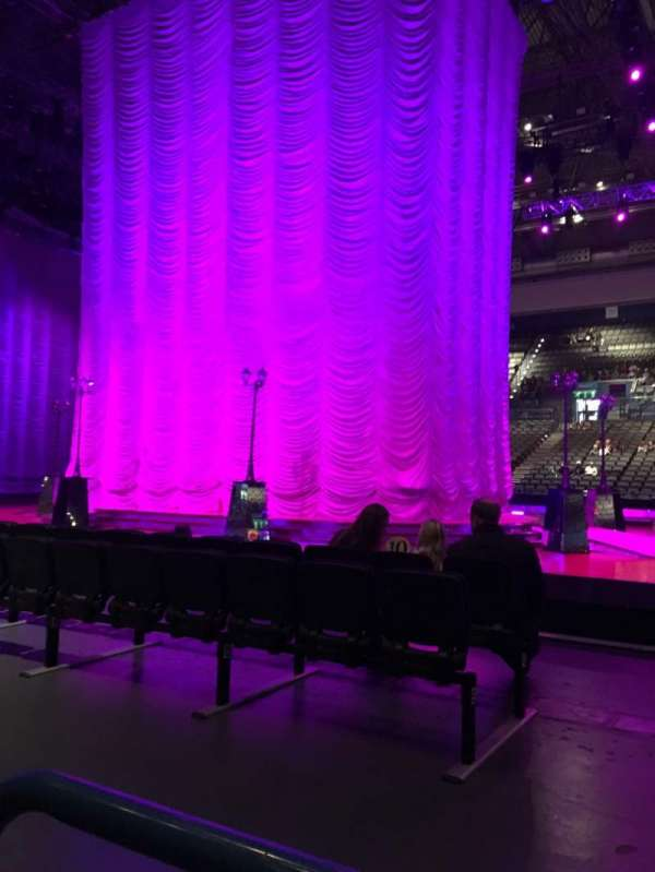 Arena Birmingham, secção: 9 (Lower), fila: A, lugar: 45