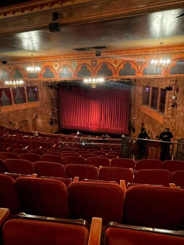 August Wilson Theatre, secção: Mezzanine R, fila: P, lugar: 16