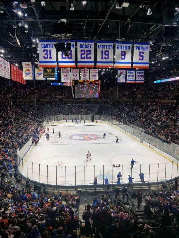 Nassau Veterans Memorial Coliseum, secção: 214, fila: 1, lugar: 1