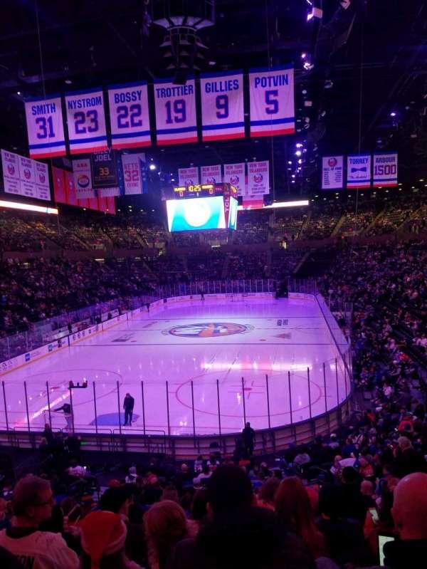 Nassau Veterans Memorial Coliseum, secção: 109, fila: 10, lugar: 1