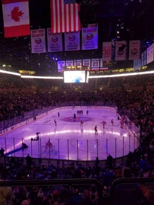 Nassau Veterans Memorial Coliseum, secção: 123, fila: 10, lugar: 5