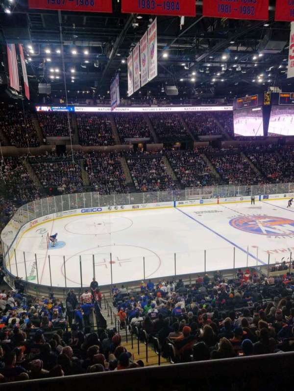 Nassau Veterans Memorial Coliseum, secção: 225, fila: 1, lugar: 1