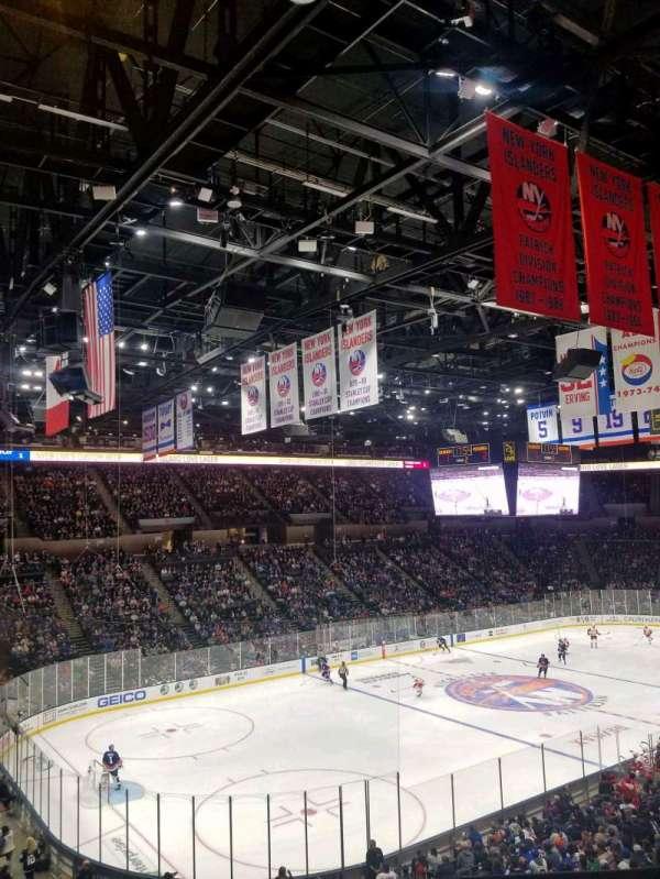 Nassau Veterans Memorial Coliseum, secção: 227, fila: 1, lugar: 1