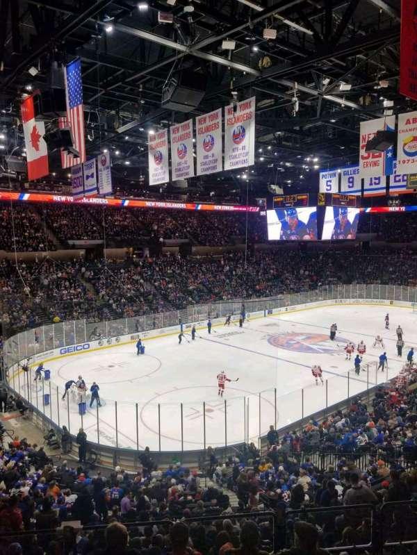 Nassau Veterans Memorial Coliseum, secção: 228, fila: 1, lugar: 1