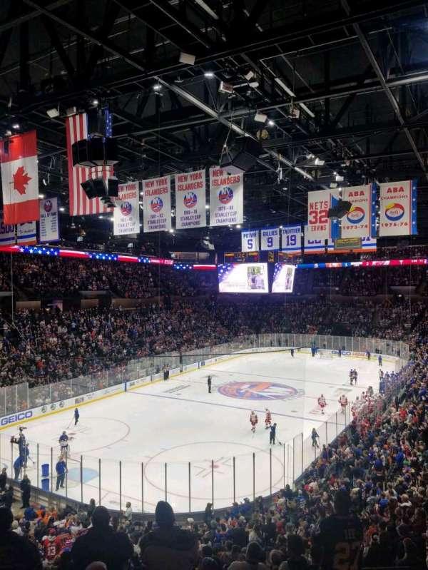Nassau Veterans Memorial Coliseum, secção: 229, fila: 1, lugar: 1