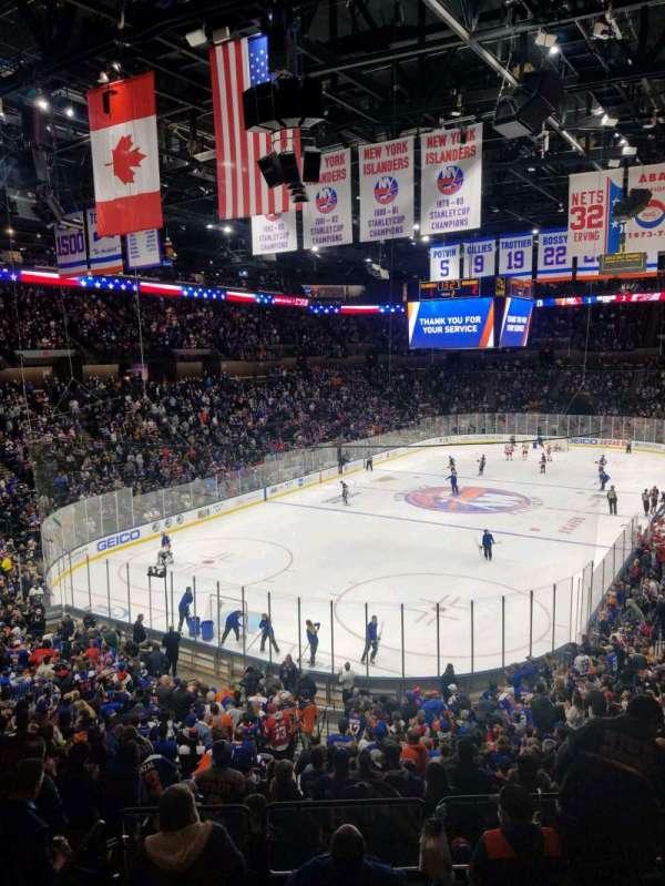 Nassau Veterans Memorial Coliseum, secção: 230, fila: 1, lugar: 1