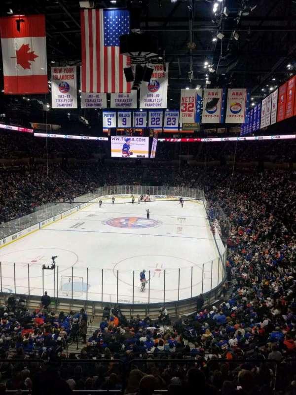 Nassau Veterans Memorial Coliseum, secção: 231, fila: 1, lugar: 1