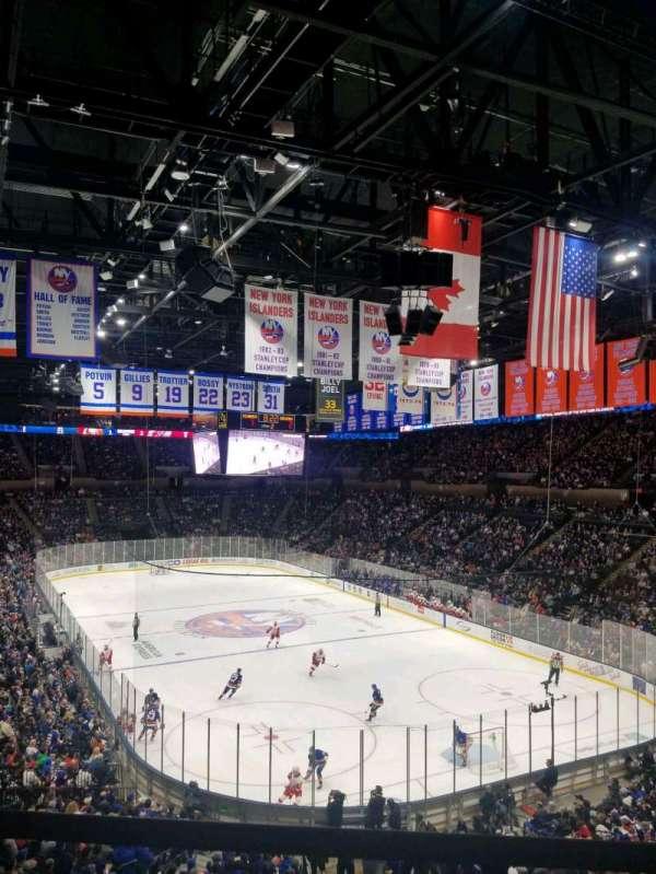 Nassau Veterans Memorial Coliseum, secção: 236, fila: 1, lugar: 1