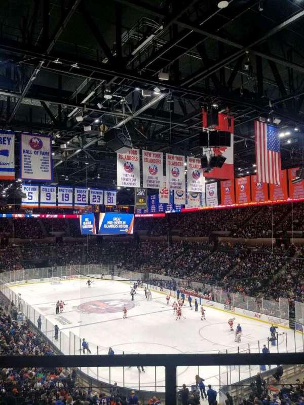 Nassau Veterans Memorial Coliseum, secção: 237, fila: 1, lugar: 1