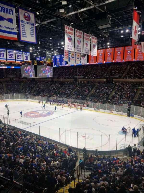 Nassau Veterans Memorial Coliseum, secção: 239, fila: 1, lugar: 1