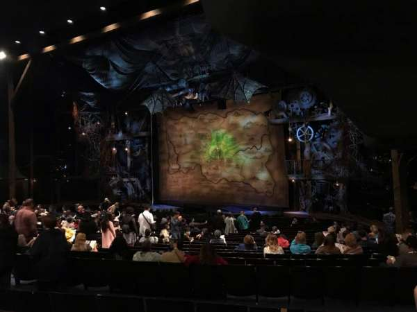 Gershwin Theatre, secção: ORCHST, fila: U, lugar: 30