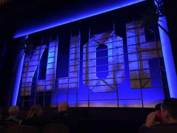 Nederlander Theatre, secção: Orchestra R, fila: E, lugar: 2