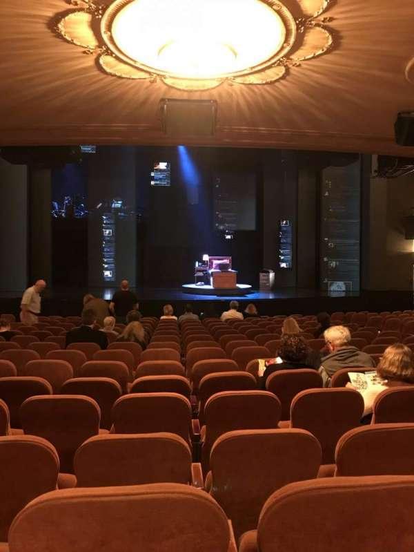 Music Box Theatre, secção: Orchestra C, fila: Standing Room, lugar: 106