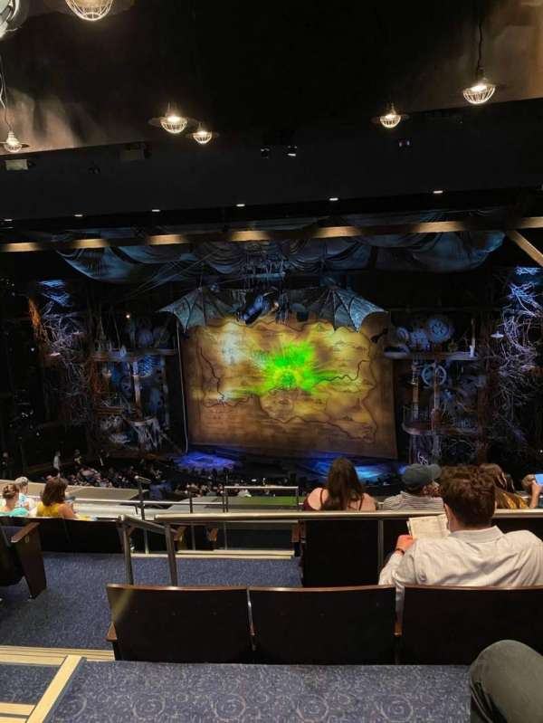 Gershwin Theatre, secção: Rear Mezzanine R, fila: H, lugar: 6