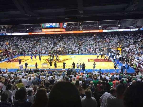 Williams Arena, secção: 105, fila: 24, lugar: 5