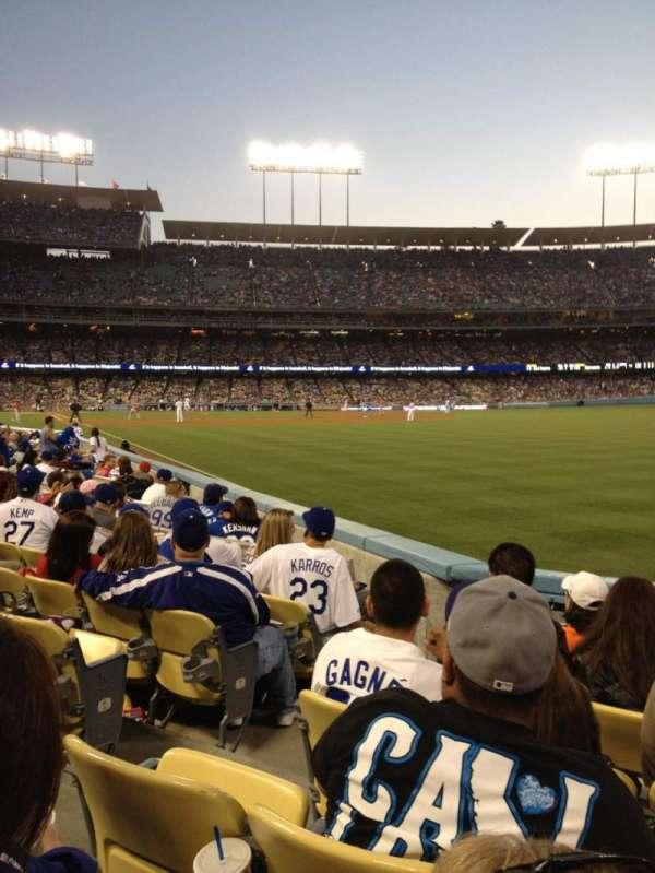Dodger Stadium, secção: 48FD, fila: E, lugar: 3