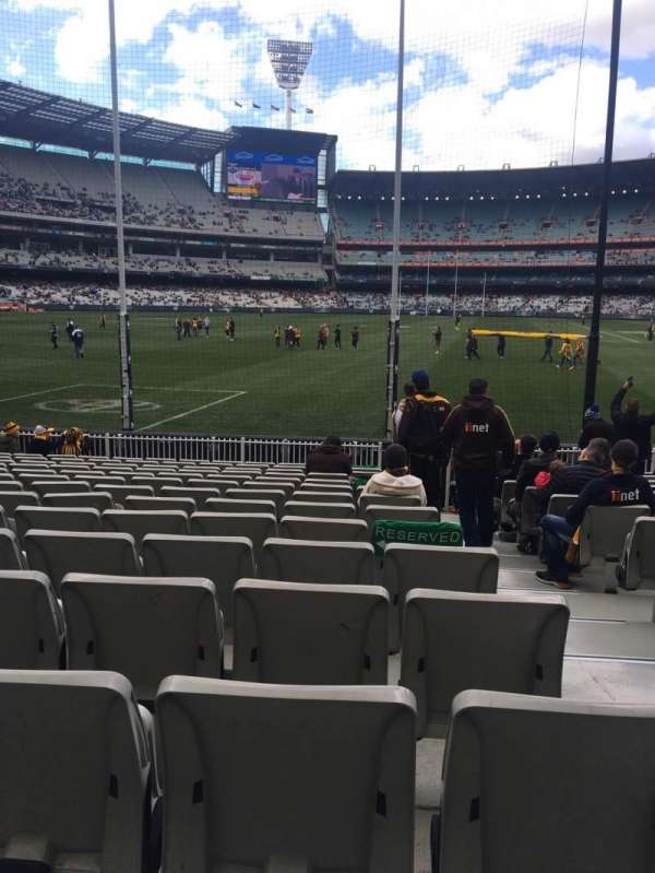 Melbourne Cricket Ground, secção: M32, fila: O, lugar: 2