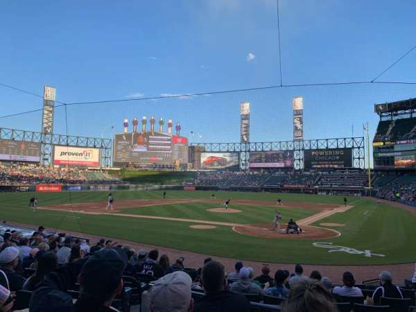 Guaranteed Rate Field, secção: 134, fila: 16, lugar: 7