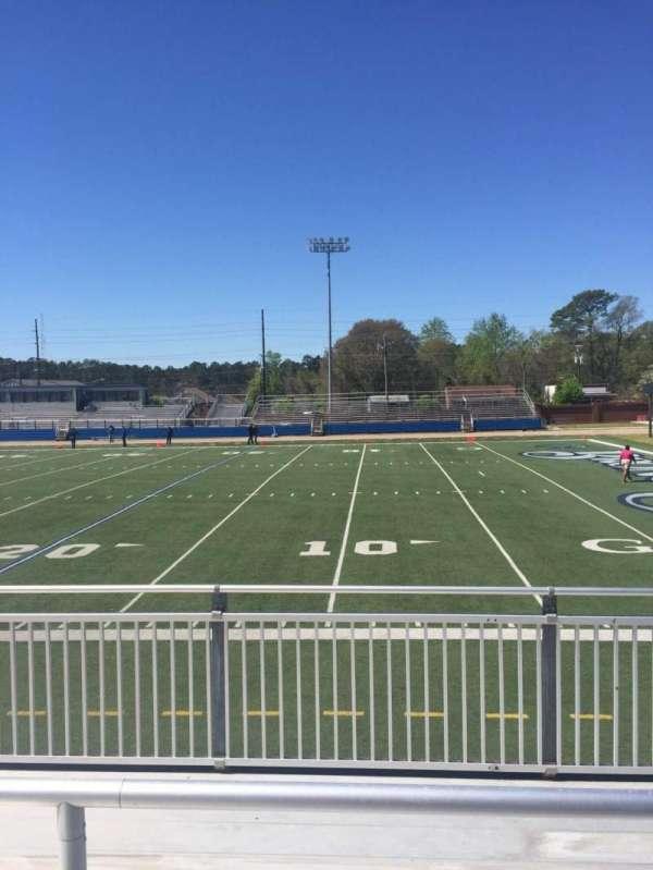 Luther Nick Jeralds Stadium, secção: 102, fila: 3, lugar: 10