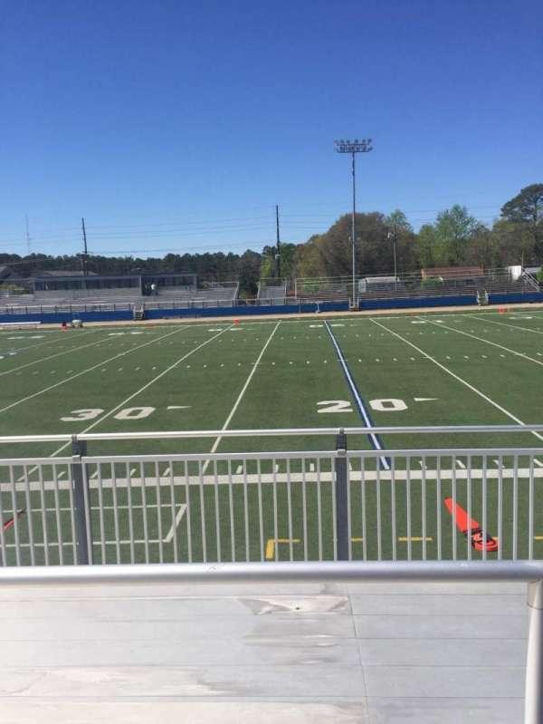 Luther Nick Jeralds Stadium, secção: 103, fila: 3, lugar: 10