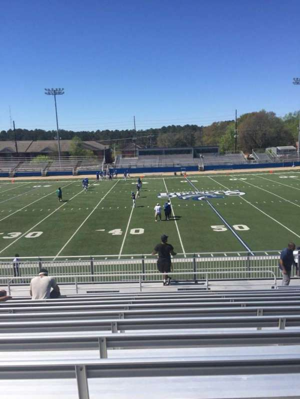 Luther Nick Jeralds Stadium, secção: 105, fila: R, lugar: 14