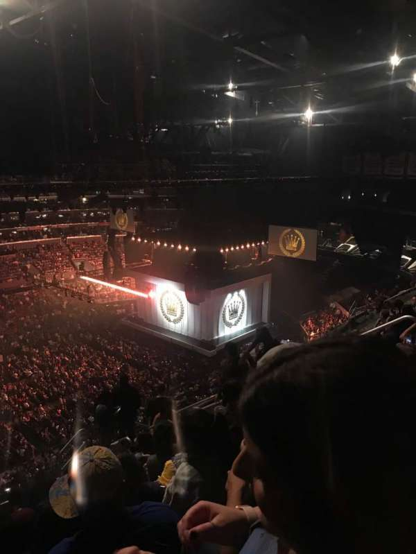 Staples Center, secção: 303, fila: 11, lugar: 9