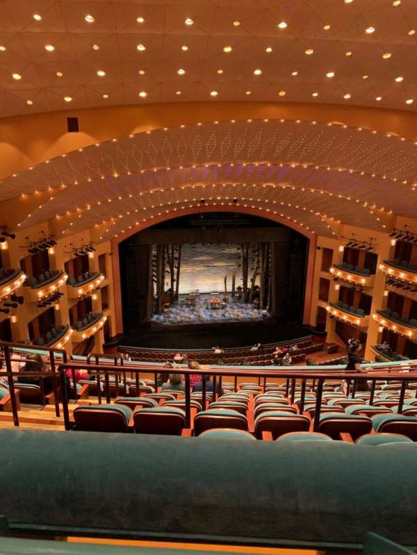 Procter And Gamble Hall at the Aronoff Center, secção: Balcony RC, fila: J, lugar: 206