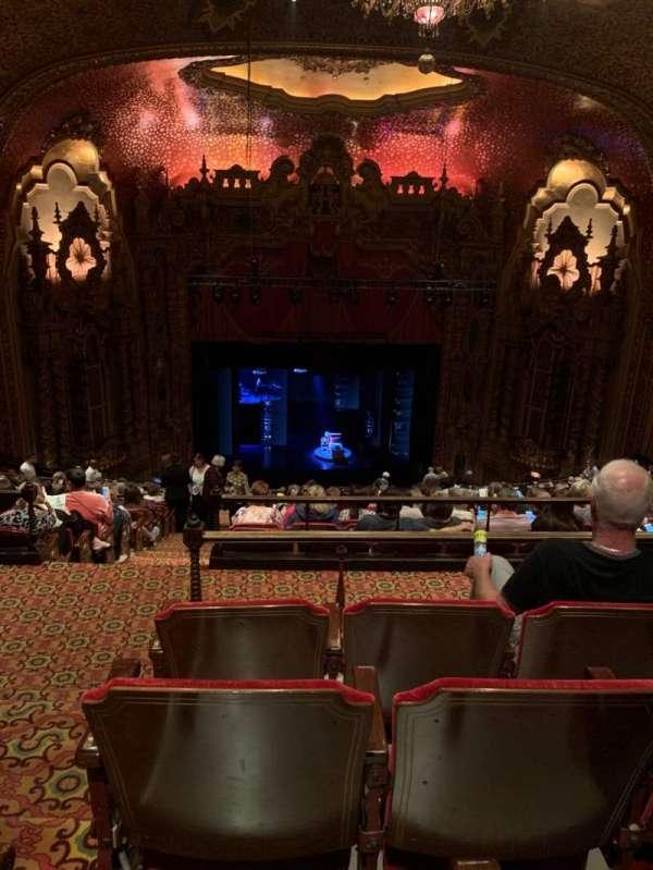Ohio Theatre (Columbus), secção: Balcony C, fila: R, lugar: 101