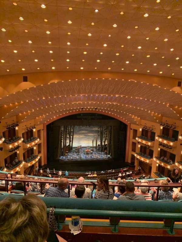 Procter And Gamble Hall at the Aronoff Center, secção: Balcony C, fila: K, lugar: 209