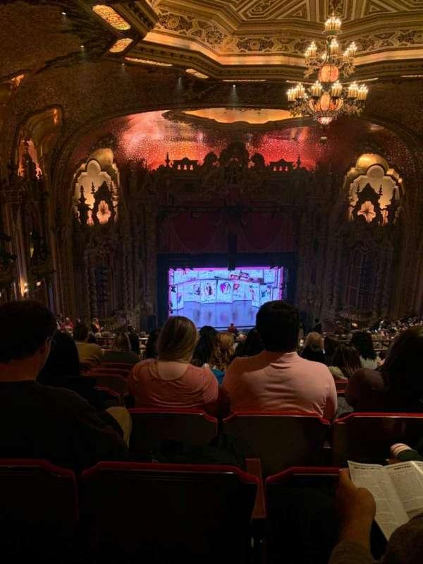 Ohio Theatre (Columbus), secção: Balcony D, fila: X, lugar: 7