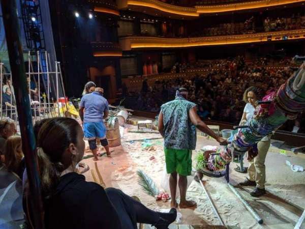 Mead Theatre at the Schuster Center, secção: On Stage