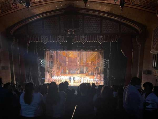 Fox Theatre (Atlanta), secção: Dress Circle Right A, fila: A, lugar: 118