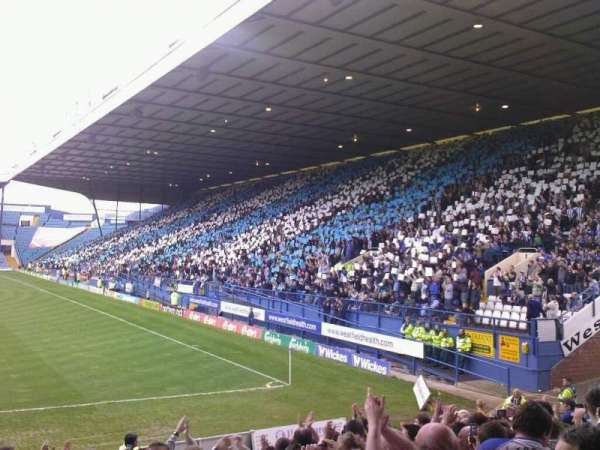 Hillsborough Stadium, secção: X1, fila: 16, lugar: 175