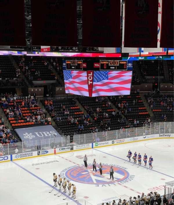 Nassau Veterans Memorial Coliseum, secção: 226, fila: 9, lugar: 8