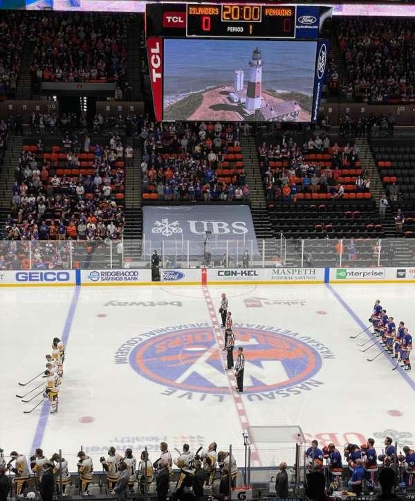 Nassau Veterans Memorial Coliseum, secção: 224, fila: 6, lugar: 16