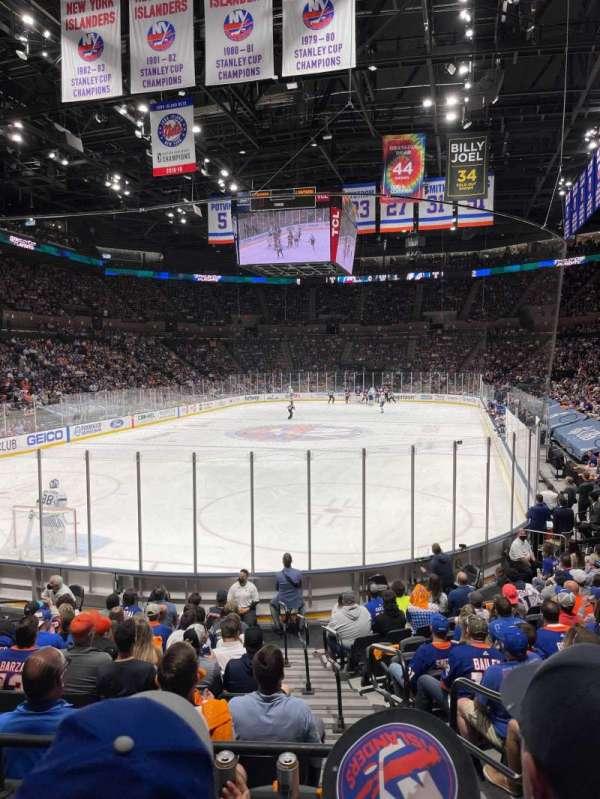 Nassau Veterans Memorial Coliseum, secção: 123, fila: 3, lugar: 2