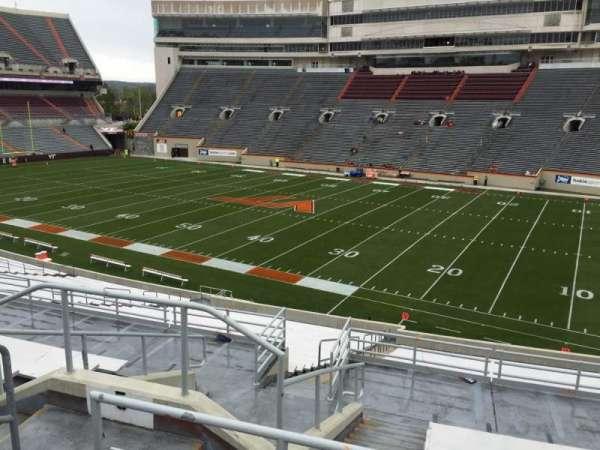 Lane Stadium, secção: 5, fila: SS, lugar: 10