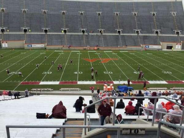 Lane Stadium, secção: 10, fila: TT, lugar: 3