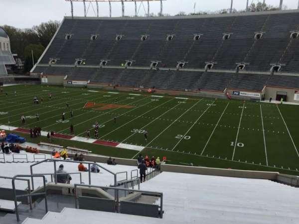 Lane Stadium, secção: 16, fila: XX, lugar: 14