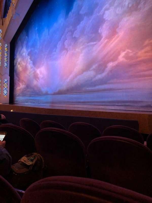 Eugene O'Neill Theatre, secção: Orchestra Right, fila: D, lugar: 14