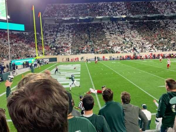Spartan Stadium, secção: 26, fila: 7, lugar: 27
