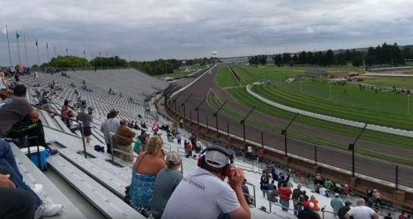 Indianapolis Motor Speedway, secção: Northeast VIsta 13, fila: QQ, lugar: 20