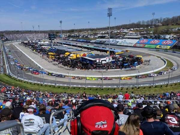 Martinsville Speedway, secção: EE, fila: 38, lugar: 14