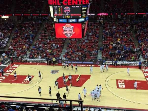 Kohl Center, secção: 307, fila: C, lugar: 18